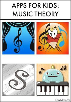 Piano Lessons For Kids Music theory apps for kids from And Next Comes L - Music theory apps for kids Music Lessons For Kids, Music Lesson Plans, Music For Kids, Piano Lessons, Art Lessons, Piano Games, Piano Music, Piano Keys, Music Music