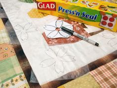 marking tutorial with Press-n-Seal