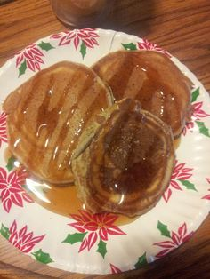 LACTATION PANCAKES: Ingredients: 2 cups flour 1 1/2 cups blue diamond almond breeze milk 1/4 cup honey 2tsp baking powder 1tsp baking soda 1tsp salt 2 eggs 2Tbsp flaxseed 1 Tbsp brewers yeast 1 tsp vanilla extract 2tsp cinnamon Directions: °Turn on stove burner to low, coat lightly with cooking spray ° mix dry ingredients together in one bowl ° lightly beat milk, eggs, honey and vanilla in another bowl. ° add wet ingredients to dry and whisk until lumps are gone(might need to add a light…
