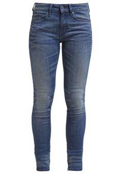 3301 CONTOUR HIGH SKINNY - Slim fit jeans - frakto superstretch
