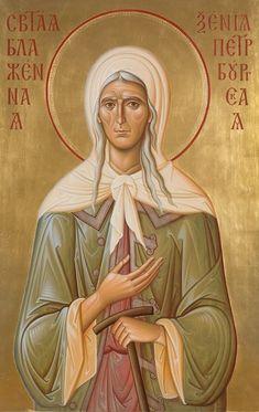 St Xenia of Petersburg Greek Icons, Byzantine Icons, Orthodox Christianity, Orthodox Icons, Cyprus, Saints, Religion, Princess Zelda, Painting