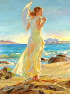 Searching for affordable Vladimir Volegov Painting in Home & Garden? Buy high quality and affordable Vladimir Volegov Painting via sales. Enjoy exclusive discounts and free global delivery on Vladimir Volegov Painting at AliExpress Art And Illustration, Illustrations, Figure Painting, Painting & Drawing, Vladimir Volegov, Art Plage, Ouvrages D'art, Albrecht Durer, Am Meer