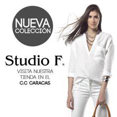 Que esperas para armar tu #look con la #nuevacoleccion de #studiof #studiofcaracas #caracas #venezuela