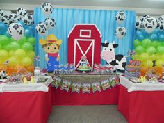 LA GRANJA Birthday Party Ideas | Photo 8 of 8 | Catch My Party