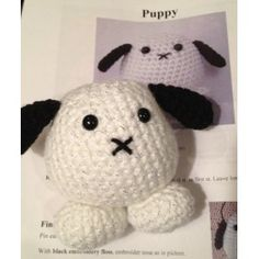 Puffy Pals Amigurumi Crochet Pattern (Easy Crochet Doll Patterns)
