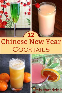 Chinese New Year is a Spring Festival about sweeping away negativity welcoming good fortune. Celebrate with one of our best Chinese New Year Drinks, which feature traditional flavors like lychee and orange.