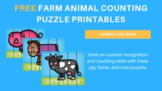 Creating a farm animal theme in our toddler and preschool classroom was easy, as there are so many fun activities. Come see how we set up each of our learning centers! Preschool Farm, Preschool Classroom, Toddler Preschool, Toddler Activities, Preschool Ideas, Fun Activities, Animal Activities, Preschool Printables, Toddler Learning