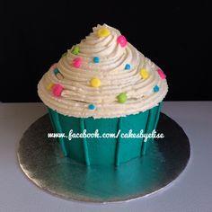 Cupcake smash cake. www.facebook.com/cakesbyelise