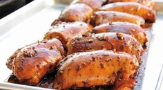 Check out this delicious recipe for Cedar-Planked Chicken Thighs with Soy-Ginger Glaze from Weber—the world's number one authority in grilling.