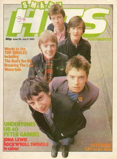The Undertones (Smash Hits magazine, Band On The Run, John Peel, New Wave Music, The Undertones, Poster Boys, Peter Gabriel, Rock News, Band Pictures, Classic Monsters