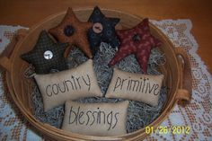 Basket or Bowl Fillers by HeartfeltStitchin on Etsy, $9.95