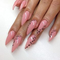 Nail look for winter