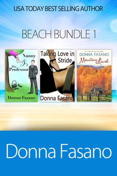 Author Donna Fasano, In All Directions: Mother's Day Special! ROMANCE BEACH BUNDLE 1 ~ 3 full-length eBooks for 99¢