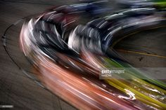 Cars race during the NASCAR Sprint Cup Series Federated Auto Parts 400 at Richmond International Raceway on September 2015 in Richmond, Virginia. Get premium, high resolution news photos at Getty Images Motion Photography, Sport Photography, Richmond International, Nascar Shop, The Intimidator, Martin Truex Jr, Nascar Sprint Cup, Camping World, Monster Energy