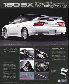 Tuner Cars, Jdm Cars, Nissan 180sx, Classic Japanese Cars, Street Racing Cars, Japan Cars, Car Posters, Old Ads, Modified Cars