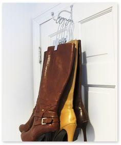 Perfect 15 Designs For Organizing Boots   Core77. Closet StorageBoot StorageStorage  ...