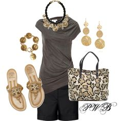 Cute summer outfit and I love the purse of course...:)