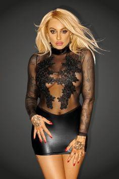 #NoirHandmade #Littleblackdress #LBD #Wetlook #Sexysress #Clubwear #Clubdress