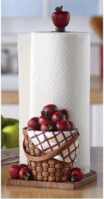 Decorating ideas on pinterest apples apple kitchen for Red apple decorations for the kitchen