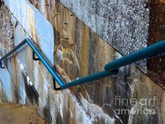 Stepping Outside The Lines - photograph by Robyn King fineartamerica.com #streetphotography #urbanabstract