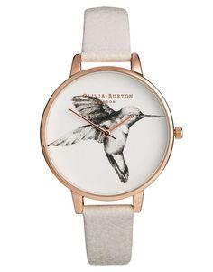 ASOS Olivia Burton Mink Hummingbird Watch