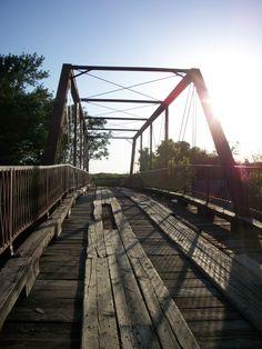 "Old Alton Bridge ""Goatman's Bridge"""