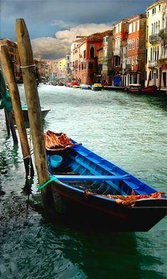 Canareggio parking - Venice , Italy, province of Venezia , Veneto region Italy