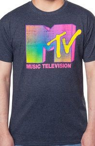 Neon MTV Logo Shirt