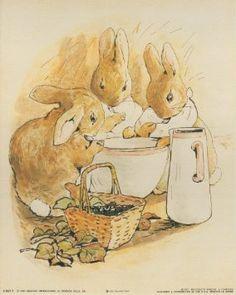 Amazon.com: The Tale of Peter Rabbit Beatrix Potter Art Print Poster (8x10): Home & Kitchen