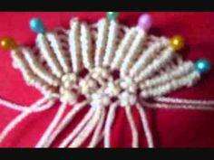 """Макраме. Плетение брелка """"Ангел"""" -мастер класс.wmv"""