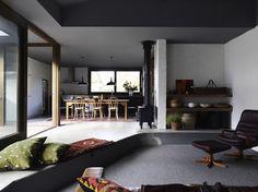 nice level change ~~ Kennedy Nolan Architects: Merricks Beach House - Thisispaper Magazine