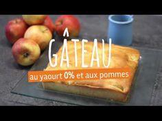 Fourchette&Bikini vous propose de réaliser un délicieux gâteau au yaourt 0% et aux pommes.