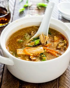 Bowl Of Soup, Soup And Salad, Asian Recipes, Ethnic Recipes, Oriental Recipes, Asian Foods, Chinese Recipes, Filipino Recipes, Chinese Food