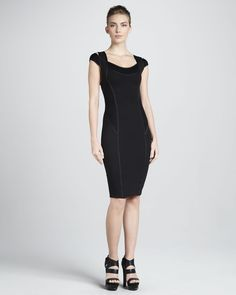 http://docchiro.com/donna-karan-coldshoulder-taped-sheath-dress-black-p-1009.html