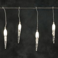 Konstsmide 4612-103 Connectable Christmas Icicle Lights - 100 LEDs