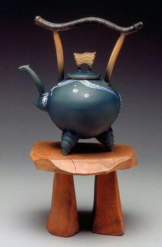 *Ceramic Teapot by Don Davis