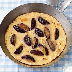 Zwetschgen-Pfannkuchen - Plum Pancakes