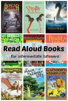 Is your child ready to listen to longer read aloud books, such as chapter books or short novels? Here are some great suggestions which are perfect for intermediate listeners. Kid Books, Childrens Books, Classroom Organization, Classroom Ideas, My Fathers Dragon, Short Novels, Pippi Longstocking, Read Aloud Books, Chapter Books