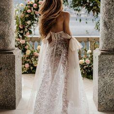 Sheer magic #Berta #vakkowedding #bridal Bridal Looks, Bridal Style, Muse By Berta, Berta Bridal, Tulle Bows, Bridal Collection, Wedding Day, Bride, Elegant