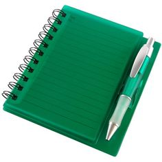 Notepad in a Plastic Case and Pen | Printed Business Gifts | Fast Lead Times