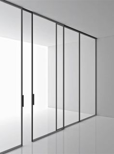 Boffi - Aluminium and glass storage system