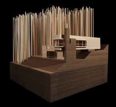 Bustler: Patkau Architects Win Competition to Design On-Site Cottages at Fallingwater