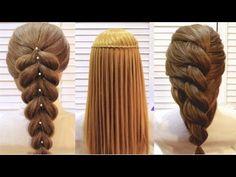 Топ 10 Простые и Удивительные Прически. Top 10 Amazing Hairstyle Tutorial Compilation 2017 - YouTube