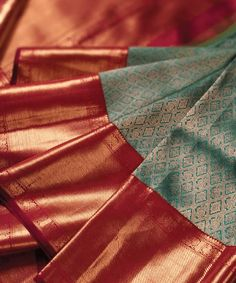 Pretty Pink And Green Color Soft Silk Designer Saree – Great indian saree