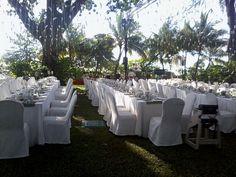 White Garden Wedding at Shangri-La Rasa Sayang, Penang