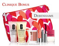 Gift with purchase at Debenhams (UK). Ends Feb 21, 2015. http://clinique-bonus.com/united-kingdom/