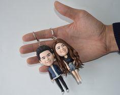 Couple Figure Keychain http://www.myboyfriendgifts.com/product/couple-figure-keychain/