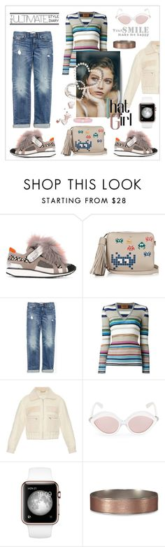 """""""That girl"""" by zabead ❤ liked on Polyvore featuring Pierre Hardy, Anya Hindmarch, Madewell, Missoni, Diane Von Furstenberg, RetroSuperFuture, Abercrombie & Fitch, Adolfo Courrier, StreetStyle and Trendy"""