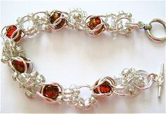 twofer-cage-bead-bracelet tutorial