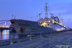 MS Stubnitz #ship #trawler #hamburg